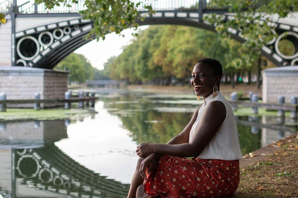 photographie femme- portrait femme - fleuve
