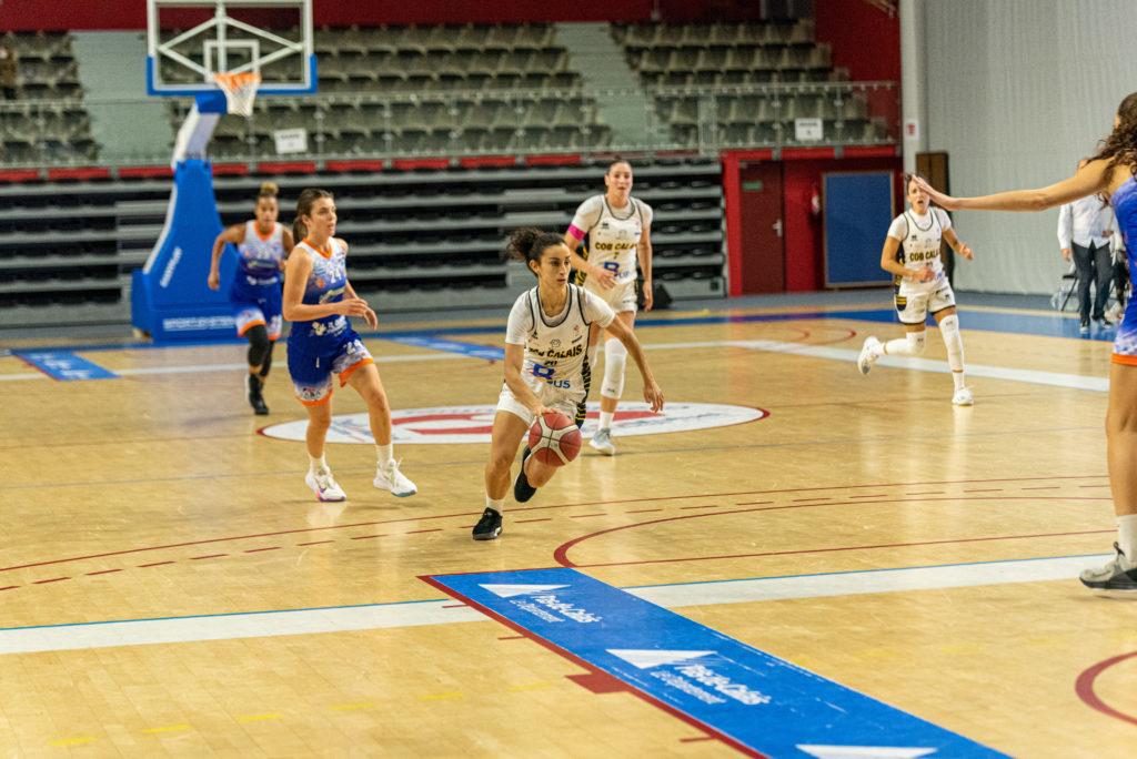 Photographie sportive - match basketball