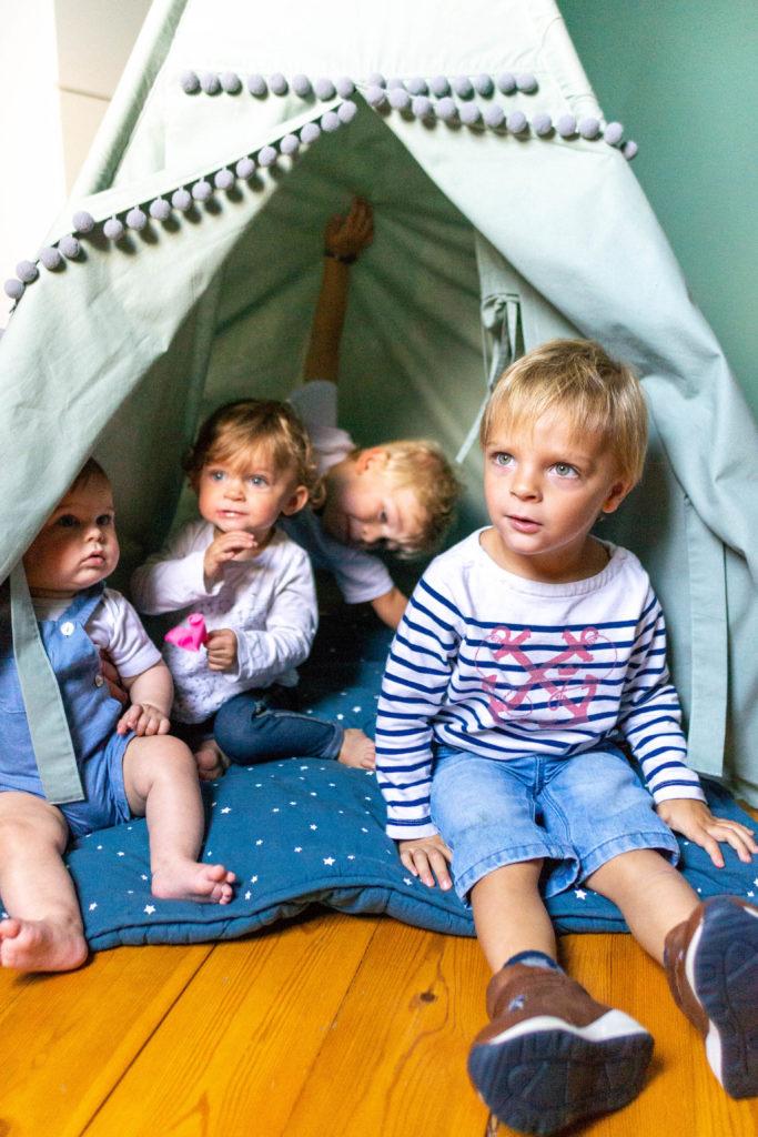 photographie de famille - cabane