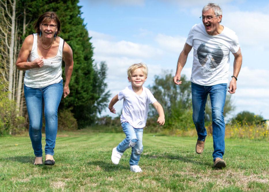 photographie de famille - mouvement