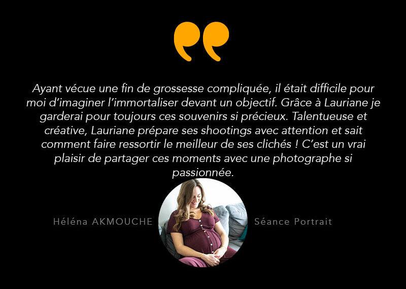 Temoignage - photographie de portrait femme - grossesse