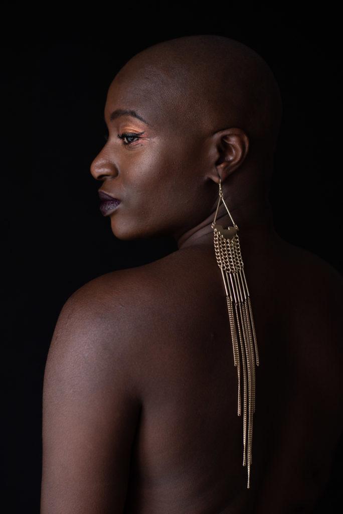 Portrait femme - photographie femme - zwo photographie - chauve