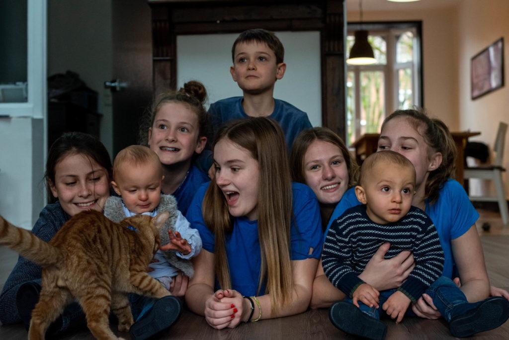 Portrait famille - photographie famille - cousins cousines